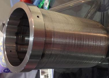 FOTI Low Pressure Drop Non Obstructive Water Pretreatment OD90 mm Wedge Wire Filter